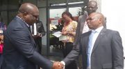 PHOTOS: Heritage Bank Pays Condolence Visit To Punch