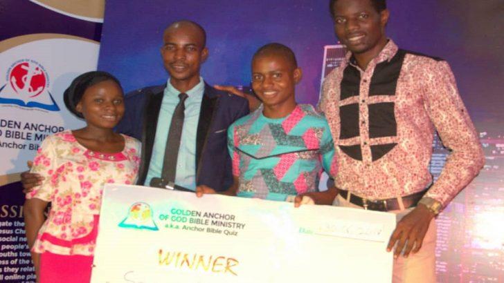 Winner Emerges In Anchor Bible Quiz Season 2