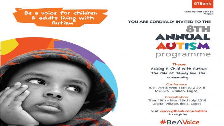 GTBank Holds 8th Annual Autism Conference July 17-18