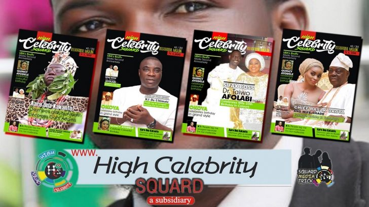 High Celebrity Squard Magazine Hits Newsstands In Grand Style