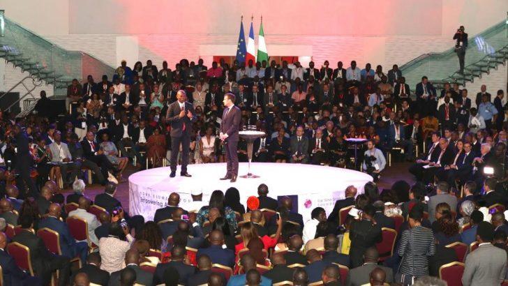 How Tony Elumelu Foundation Linked 2,000 Young African Entrepreneurs to Macron