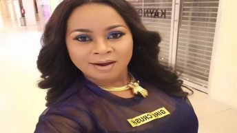 Nollywood Actress, Stephanie Chijioke, Storms Location For 'Polished Affair'