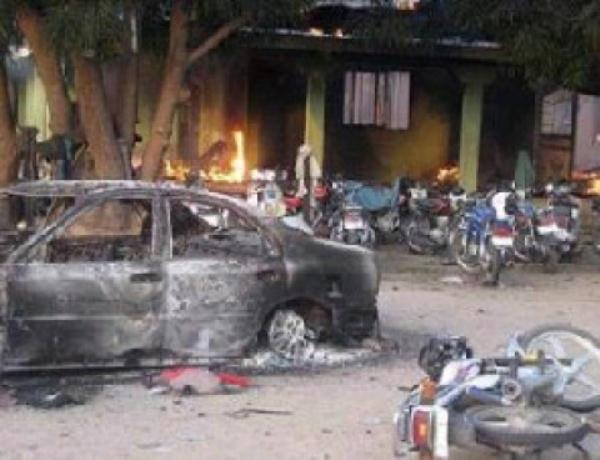 BREAKING: Female Suicide Bomber Hits Kano Poly