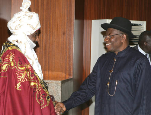 Jonathan, Sanusi In Secret Meeting