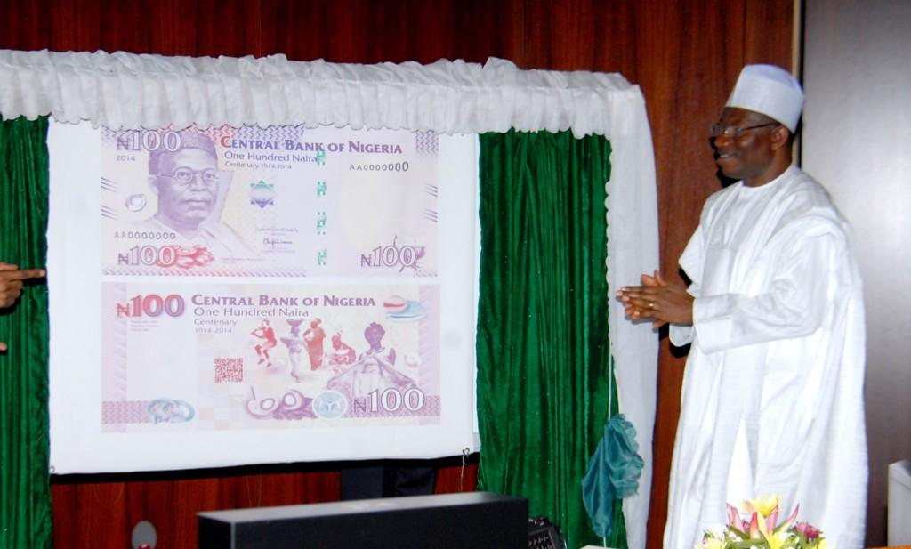 Jonathan Unveils New N100 Centenary Note