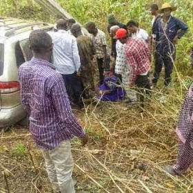 Jide Kosoko's Wife, Henrietta Survives Car Crash In Ogun