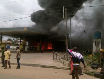 Siblings Burnt To Death In Father's Petrol Station Inferno