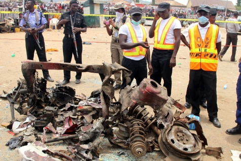 NEMA Rescues Victims Of Abuja Explosions