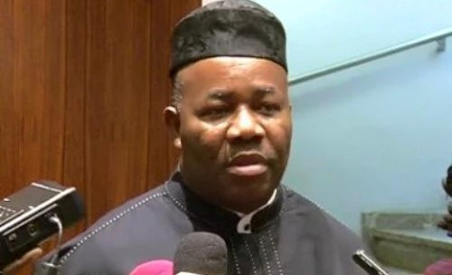 Why We Walked Out On Saraki—Akpabio