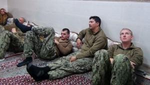 US sailors Iran
