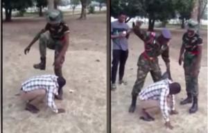 NDA Cadets torture