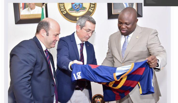 Barcelona To Start Academy In Lagos