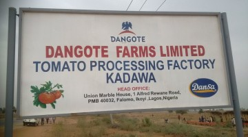 Excitement As Dangote Opens Tomato Processing Plant In Kano