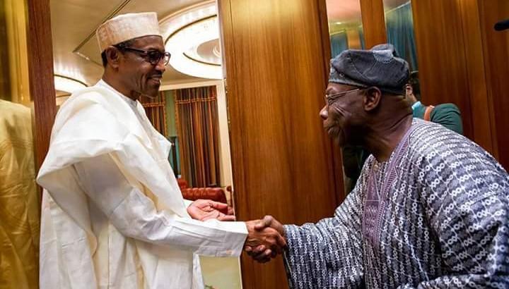 Obasanjo Visits Buhari Again