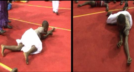 Prophet Iginla Delivers Snake-Girl Ruling Cameroon (Video)