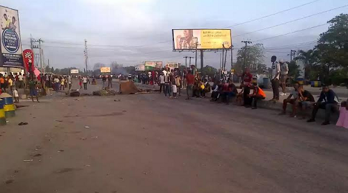 BREAKING: Police Shoot Protesting UNIPORT Student