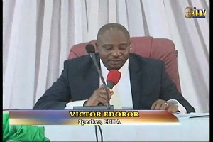ALERT: Edo Assembly Sacks Speaker, Deputy