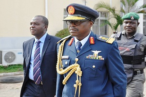 PHOTOS: EFCC Arraigns Serving Air Force Officer