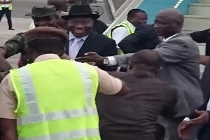Jonathan Returns From 'Exile'