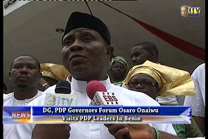 Osaro Onaiwu Resigns As PDP Governors' Forum DG
