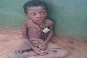 NSCDC Rescues Boy Chained At Celestial Church (Photos)