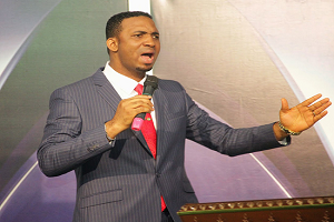 Prophet Chris Okafor Splashes Money On Widows, Orphans