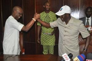 Oshiomhole, Deputy Reconcile For Obaseki