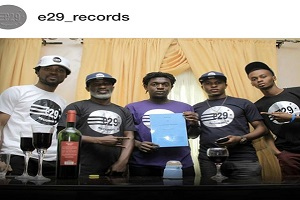 Emmanuel Emenike's E29 Records Signs Quincy