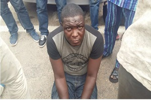 Lagos Police Nabs Notorious Cultist, Small J-Pron