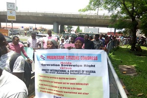 Group Protest Amnesty International's Interference in Nigeria