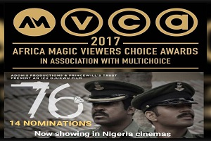 The Movie, 76', Sweeps 14 AMVCA Nominations