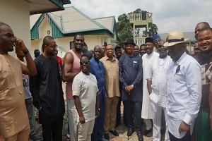 Boroh Continues Peace Moves, Takes Lawmakers to Okochiri