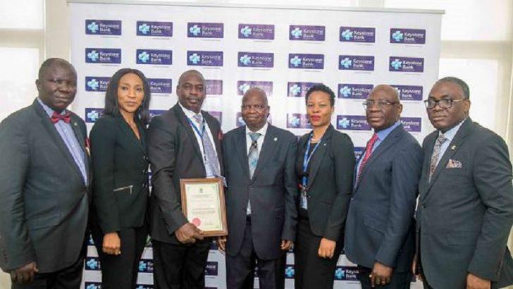 PHOTO NEWS: CIBN accredits Keystone Bank Training Academy