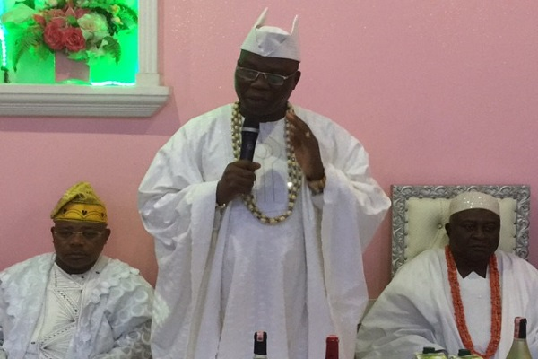 Students Visit Gani Adams, Plea For Scholarship