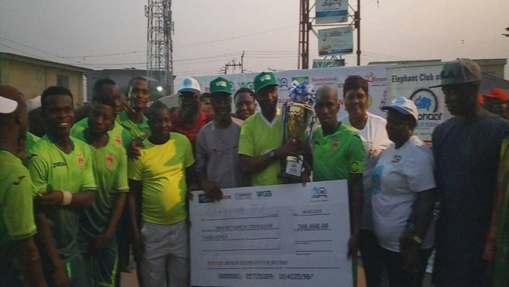 WGB Throws Weight Behind 20th Agege Elephant Cup