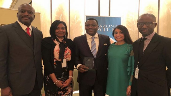 PHOTO NEWS: Keystone Bank Wins 'Best Bank in Women Entrepreneurs Empowerment Award' in US