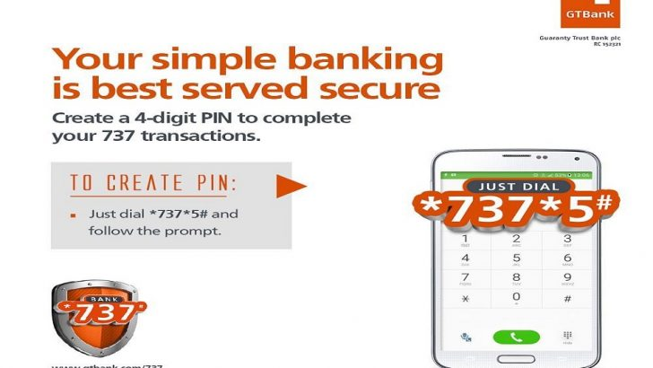 GTBank Implements PIN for 737 Transactions