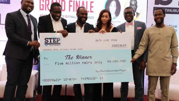 Staff Bus Nigeria Wins Seyi Tinubu's STEP N5m Grand Prize