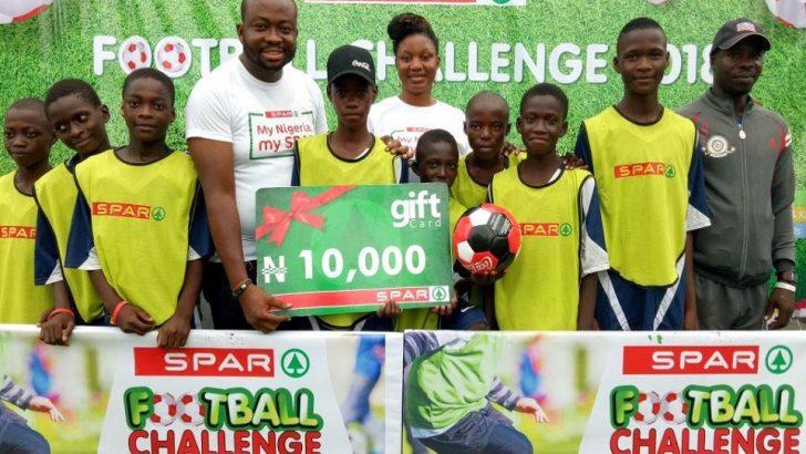 SPAR Nigeria Kicks Off Football Challenge