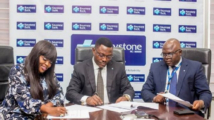 Keystone Bank Signs Star Actress, Funke Akindele, As Brand Ambassador