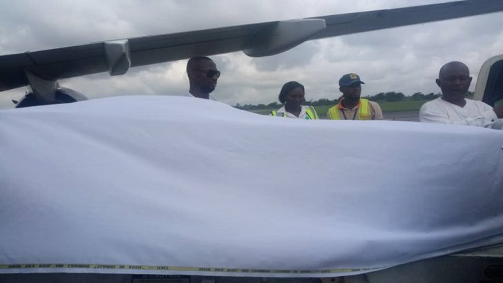 Remains Iyayi Efionayi Arrive Benin City From France