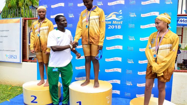 Abuja Elite Schools Showcase Young Talents At Loya Milk Swim Meet