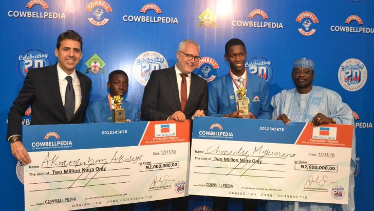 Playing Football Helps My Mathematics Skills–Cowbellpedia Champion