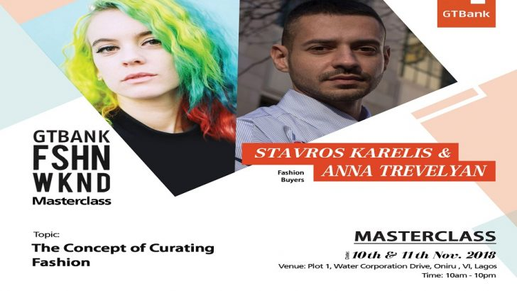 Stavros, Anna To Speak on Concept of Fashion Curation At GTBank Fashion Weekend