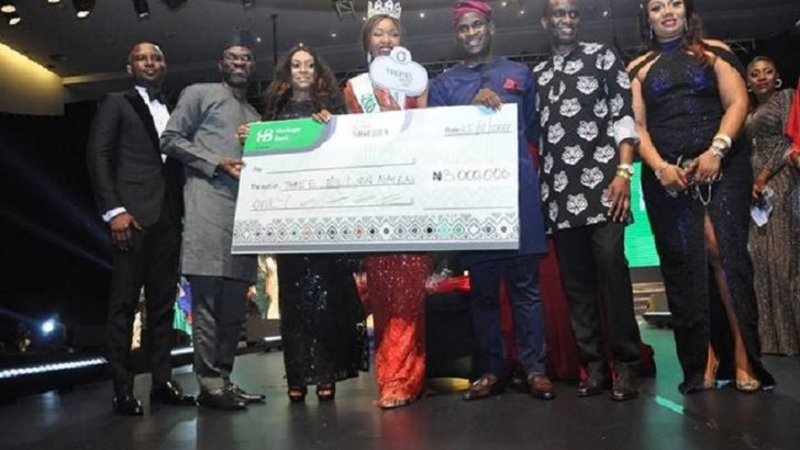 Heritage Bank Promotes Culture As Chidinma Wins 2018 Miss Nigeria