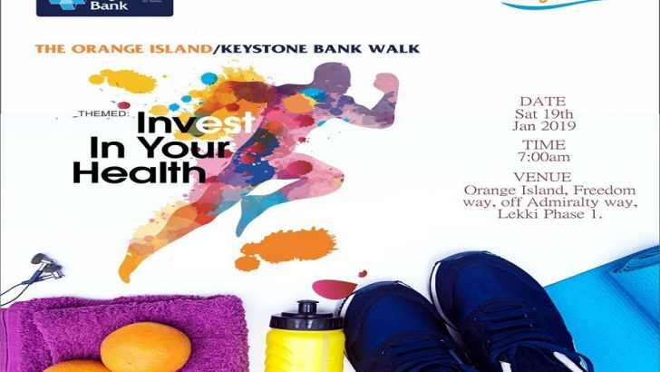Keystone Bank Partners Orange Island For Healthy Living