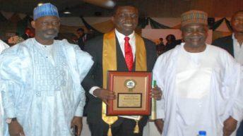 Development Bank Of Nigeria Chief Becomes CIBN Fellow