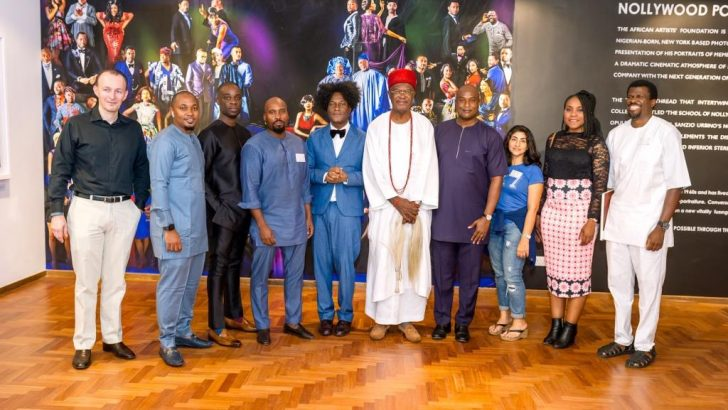 Obi of Onitsha, Columbia Business School's Alumni Visit Nollywood Portraits Exhibition
