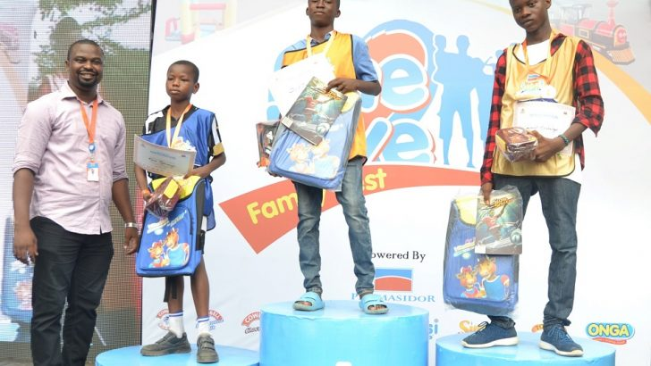 Promasidor Fetes Children At One Love Family Fest
