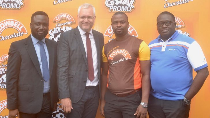 Cowbell Chocolate Commences Get Up N Goal Promo